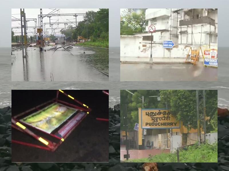 Cyclone Nivar Updates: अब कर्नाटक की ओर बढ़ रहा चक्रवाती तूफान निवार, चेतावनी जारी