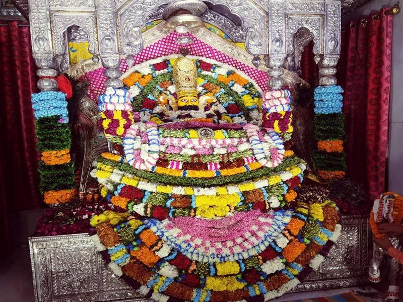 Bilaspur News: मंदिर में सजा श्याम बाबा का दरबार, शाम को होगा तुलसी विवाह