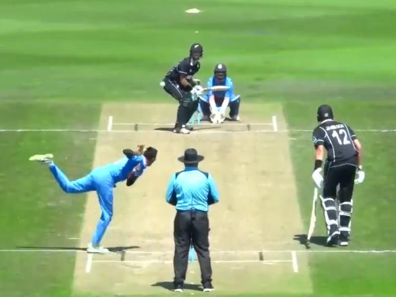 मार्क चेपमैन के शतक से New Zealand A ने India A को तीसरे वनडे में हराया, सीरीज पर कब्जा