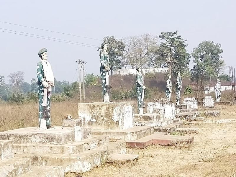 Chhattisgarh News: शहादत शर्मिंदा न हो जाए, इसलिए यहां कोई रोता नहीं