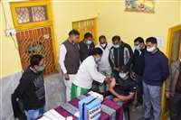 नरसिंहपुर : डॉक्टरों की उपस्थिति पर मांगा जवाब तो अस्पताल में मचा हड़कंप
