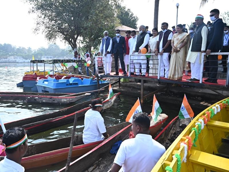 लौटेगा ऐतिहासिक दलपत सागर का वैभव, सुंदरीकरण के लिए देंगे तीन करोड़ रुपये : मुख्यमंत्री बघेल