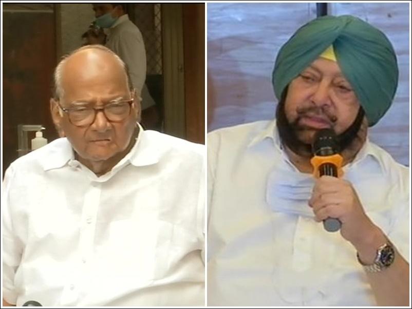 पंजाब सीएम अमरिंदर ने किसानों से किया दिल्ली खाली करने का आग्रह, शरद पवार और AAP ने की घटना की निंदा