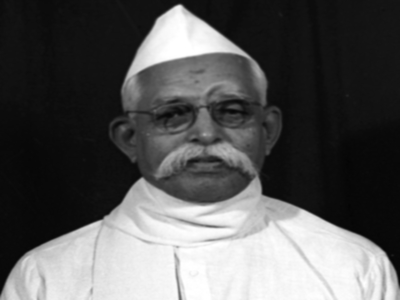 The provision in the Constitution was made by Pandit Ravi Shankar Shukla  insistence on making Hindi the official language