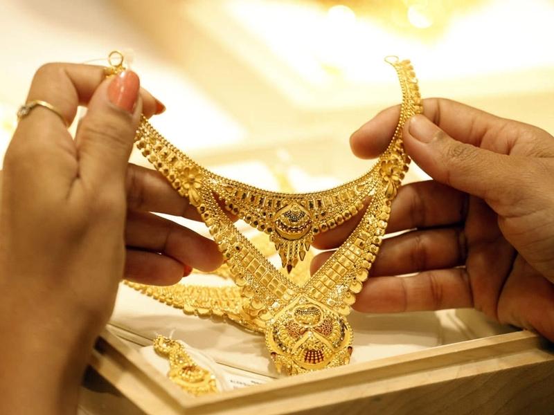 Gold Price : सस्ता हुआ सोना, 46650 रुपए प्रति 10 ग्राम से नीचे आए दाम