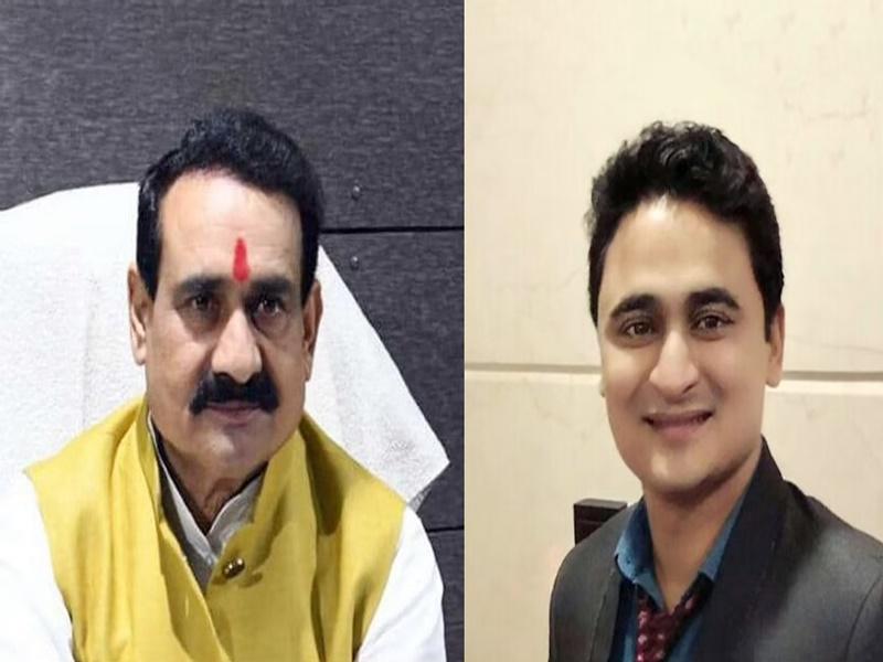 Bhopal Coronavirus : गृहमंत्री नरोत्तम मिश्रा के पुत्र सुकर्ण मिश्र भी कोरोना पॉजिटिव