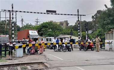 रेलवे ओवर ब्रिज का काम नहीं हुआ प्रारंभ, लोग हो रहे परेशान