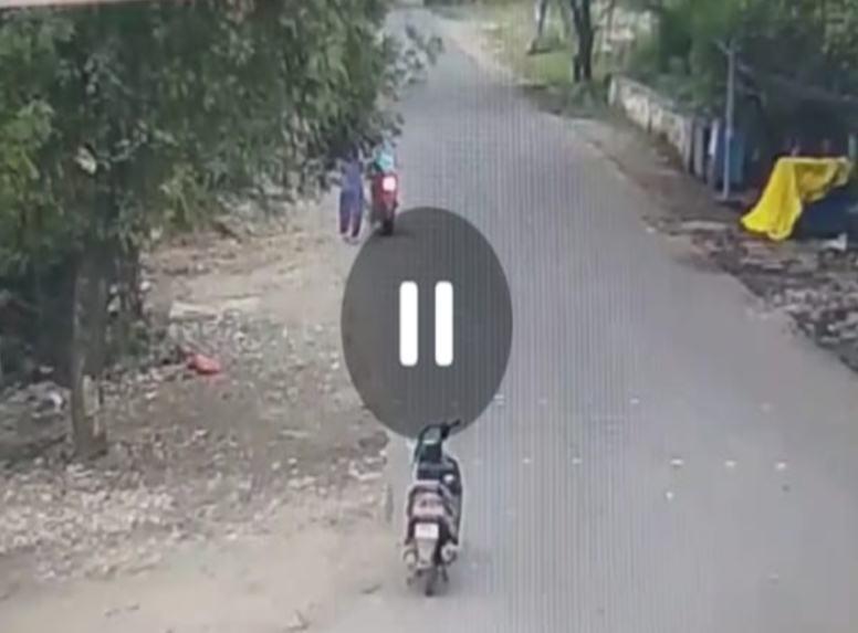 Bhopal Crime News: लूट के दौरान महिला को लगी थी चोट, सीसीटीवी में कैद हुई घटना