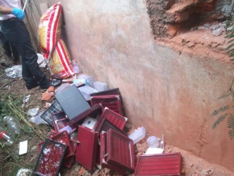 Crime News : मंदिर हसौद की ज्वैलरी शाप में चोरी के मामले में पुलिस ने प. बंगाल से गिरफ्तार किए दो चोर