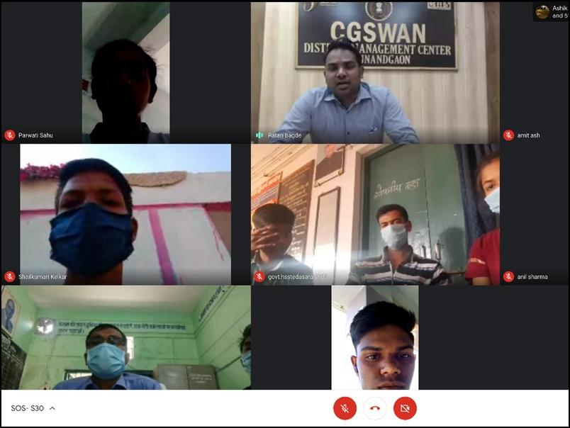 Raipur News : विद्यार्थियों में खोज प्रवृत्ति बढ़ाने के लिए हुआ 'सुपर 300' आनलाइन सेमिनार