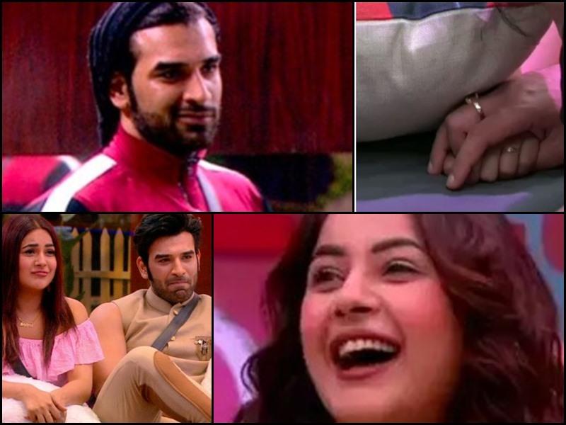 Bigg Boss 13: Shehnaaz Gill ने Paras Chhabra का हाथ तकिये के नीचे से पकड़ा, देखिए Video