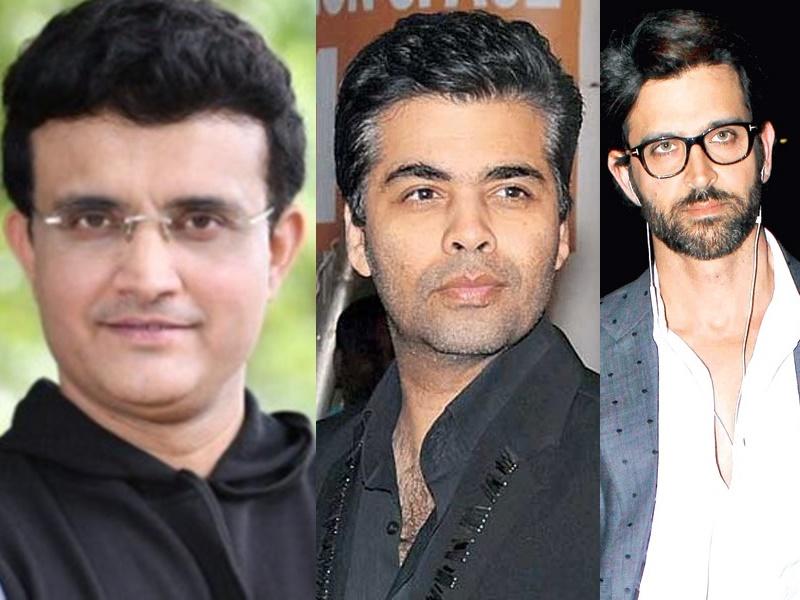 Sourav Ganguly की बायोपिक के प्रोजेक्ट से नहीं जुड़े हैं Hrithik Roshan और Karan Johar