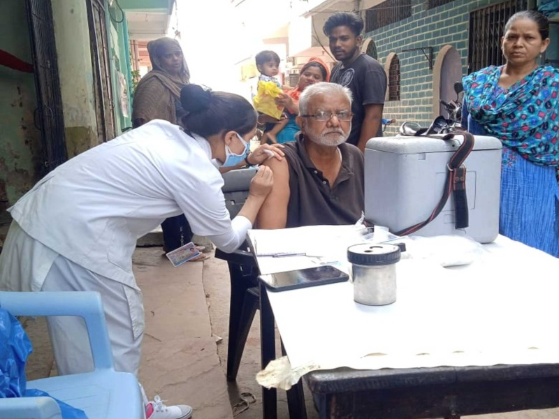 Corona Vaccination Maha Abhiyan 2.0: भोपाल में महाअभियान के दूसरे दिन लक्ष्य के मुकाबले दोगुना से भी अधिक टीकाकरण