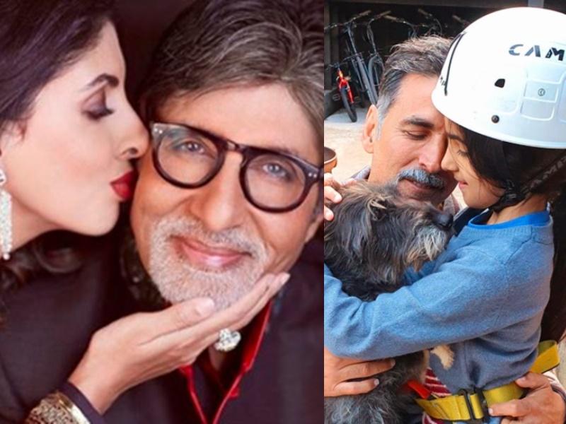 Daughters' Day 2020: Amitabh Bachchan से Akshay Kumar तक, बॉलीवुड सितारों ने ऐसे मनाया यह खास दिन
