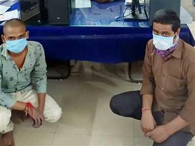 रेलवे आरक्षित के अवैध टिकट बनाने वाला गिरफ्तार