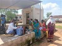 वैक्सीनेशन के  बाद बुखार से बचाने वाली दवा का तेंदूखेड़ा में बना अभाव