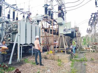 पावर ट्रांसफार्मर खराब, शहर में आठ दिन चलेगी बिजली कटौती