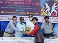 Chhattisgarh Table Tennis: छत्तीसगढ़ की टेबल टेनिस प्रतियोगिता में करण और अनुग्रह बने विजेता