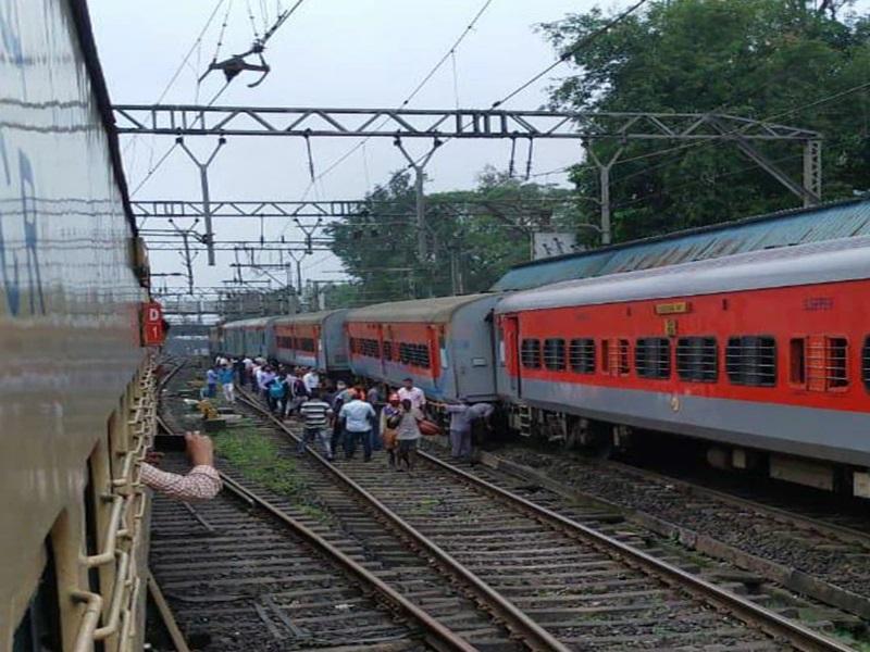 02944 Indore-Daund Special Train: पटरी से उतरी इंदौर-दौंड स्पेशल ट्रेन, सभी यात्री सुरक्षित, देखें फोटो वीडियो