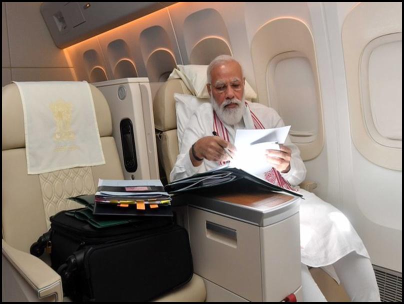 जानिए लंबी यात्रा के बाद भी क्यों नहीं थकते PM मोदी, खुल गया राज