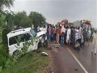 Rajasthan: जोधपुर नागौर रोड परदर्दनाक हादसा, स्कॉर्पियो व कार की टक्कर मेंपिता-पुत्री की मौत, दो घायल