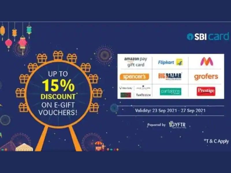 SBI Card Offer: अमेजन, फ्लिपकार्ट जैसे कई ब्रांड पर SBI कार्ड दे रहा है 15% की छूट, देखें पूरी List
