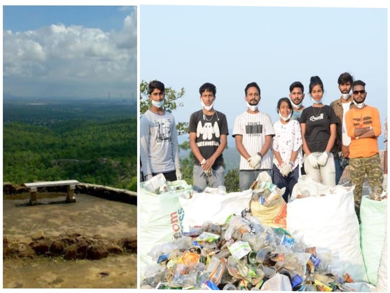 Environment Protection: युवाओं की टीम ने उठाया काफी प्वाइंट के नाम से मशहूर इस पहाड़ी बालकनी की सफाई का जिम्मा