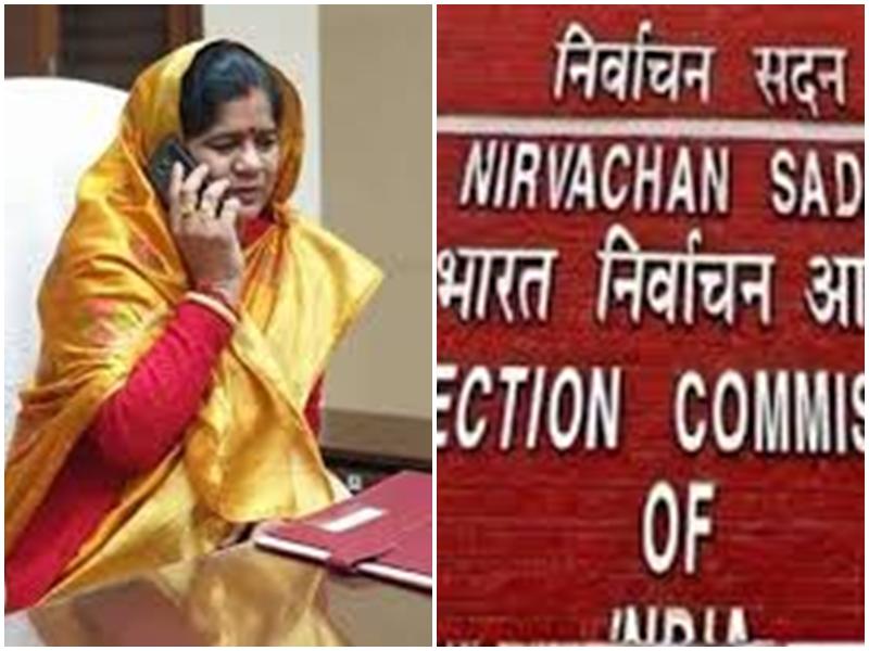 MP Assembly by elections: मंत्री और भाजपा प्रत्याशी इमरती देवी को चुनाव आयोग का नोटिस