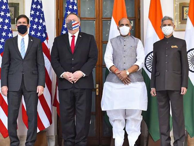 India-US 2+2 Dialogue: भारत-अमेरिका में हुई ऐतिहासिक BECA डील