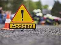 Jabalpur Accident News : ट्रक की टक्कर से बाइक सवार पिता घायल, बेटी की मौत