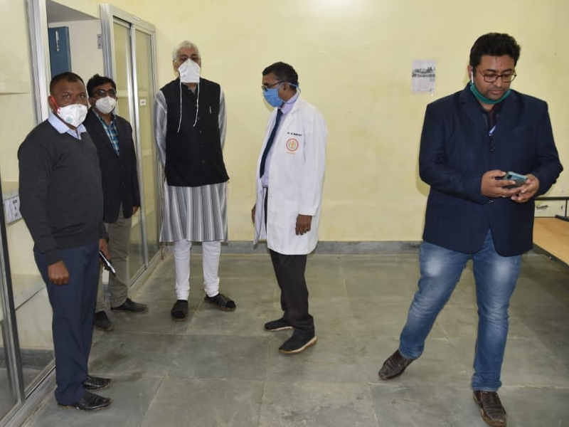 Bilaspur News : स्वास्थ्य मंत्री टीएस सिंहदेव ने किया निर्माणाधीन मेडिकल कालेज का निरीक्षण