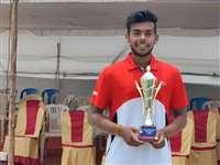 ITF Under-18 Tournament : इंदौर के डेनिम ने जीता अंतरराष्ट्रीय टेनिस टूर्नामेंट