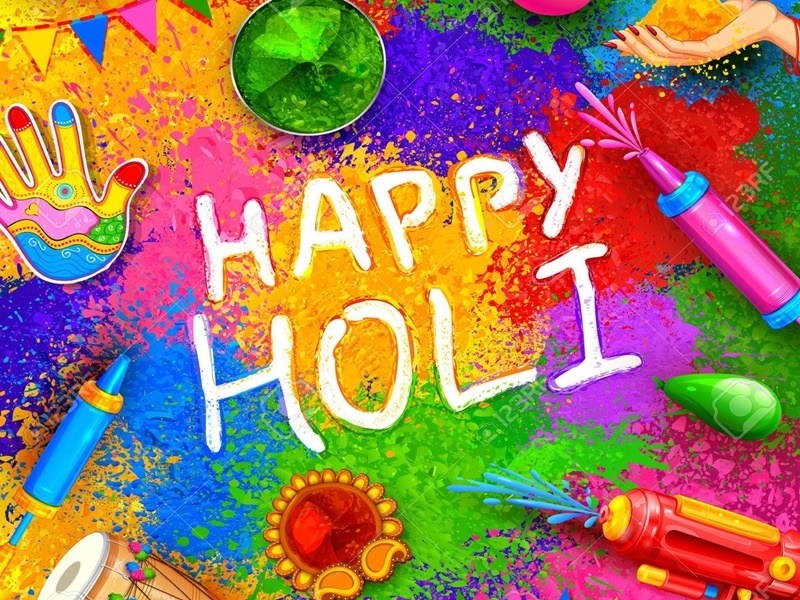 Happy Holi 2021 Wishes Images Quotes Greetings Whatsapp Facebook and  Instagram Status