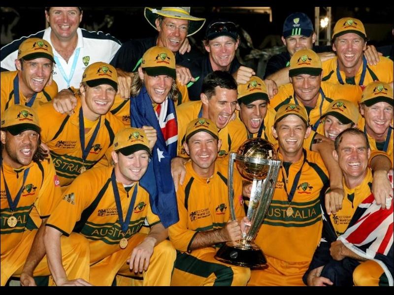 13 साल पहले ऑस्ट्रेलिया ने लगाई थी ICC World Cup खिताब की हैट्रिक
