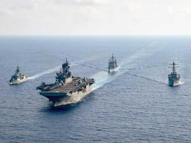 चीन के साथ संघर्ष के बीच भारतीय नौसेना ने जापानी नौसेना के साथ किया अभ्यास
