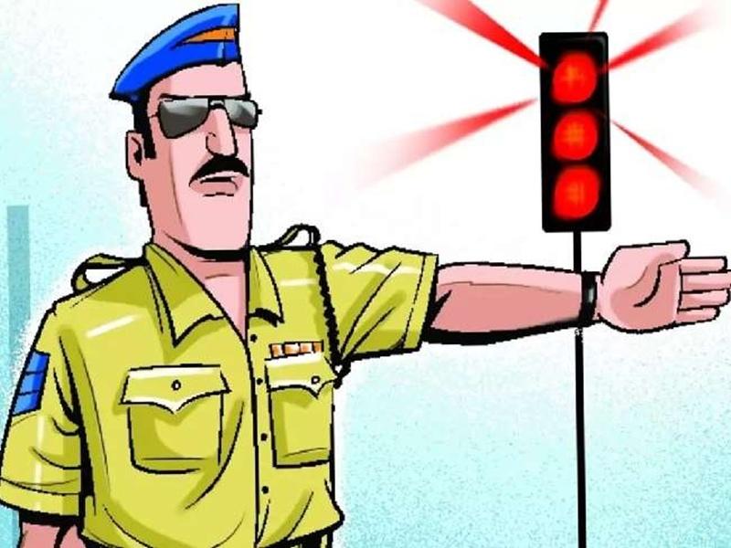 Traffic Police Indore: नियम तोड़ा तो जब्त होगीं गाड़ियां, चालान भी देना होगा