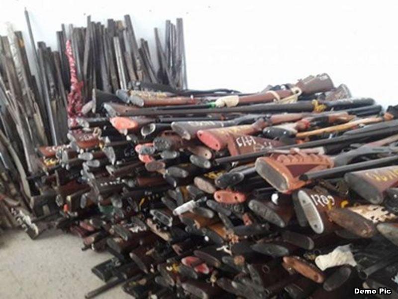 हथियार जमा करने का आज आखिरी दिन, 15500 शेष, चूके तो लाइसेंस जाएगा