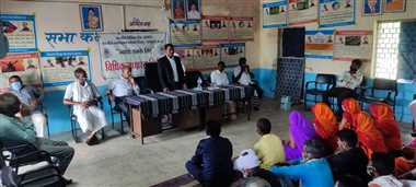 विधिक साक्षरता शिविर में दी अधिकारों की जानकारी