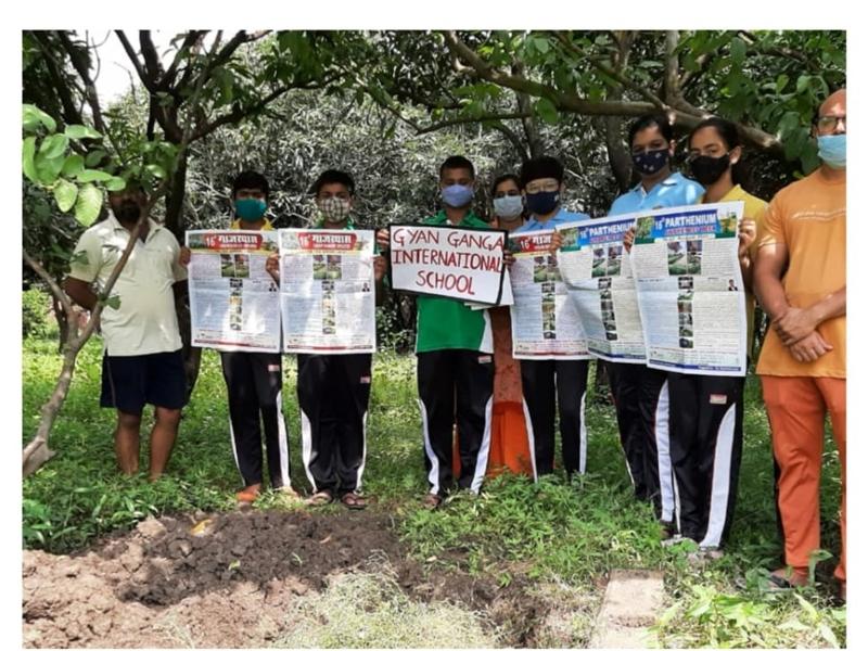 Jabalpur News : विद्यार्थियों ने सीखे अपशिष्ट प्रबंधन के तरीके व दिए अपने सुझाव
