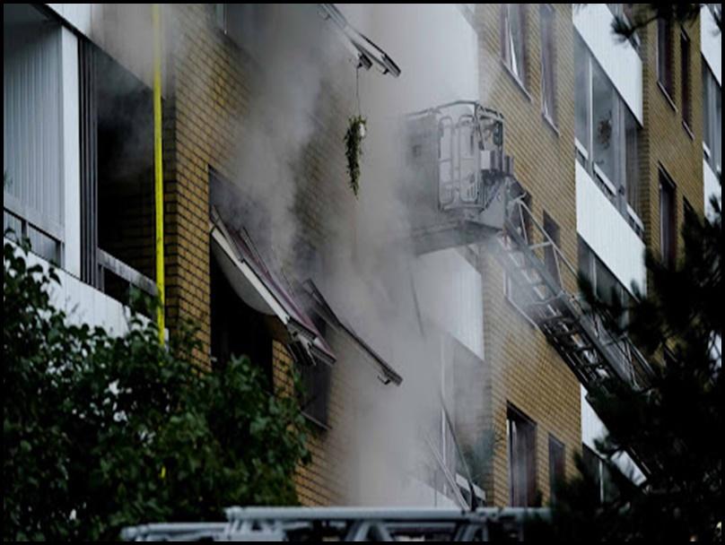 Explosion in Sweden: स्वीडन के गोथेनबर्ग शहर में धमाका, विस्फोट में 25 लोग घायल