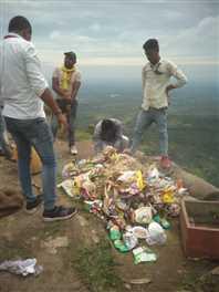 जाम गेट पर चला पर्यटन स्वच्छता पखवाड़ा