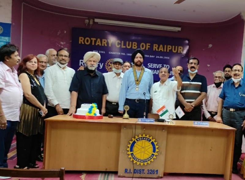 Rotary Club In Raipur: देश को पोलियो मुक्त करने में रोटरी क्लब ने निभाई अहम भूमिका : आइबीएस बत्रा