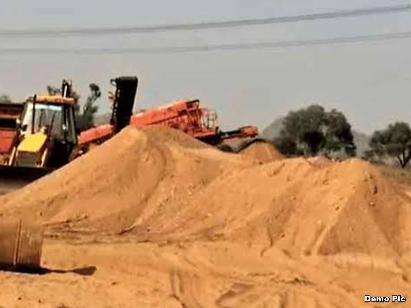 मध्य प्रदेश में रेत खदानों के नए ठेकों में अब ढाई सौ रुपये घनमीटर होगी आधार दर