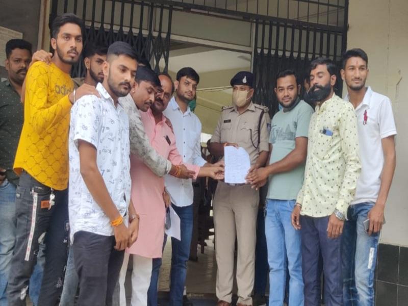 Bhopal News: विधायक रामेश्वर शर्मा के बयान से राजपूत समाज नाराज, खजूरी थाने पर किया प्रदर्शन