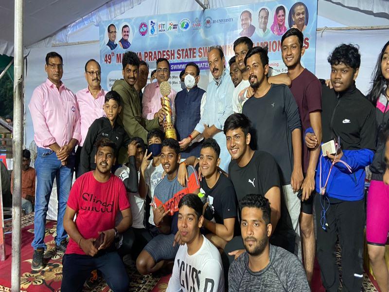 Bhopal Sports News: तैराकी में इंदौर विजेता और भोपाल रहा उपविजेता
