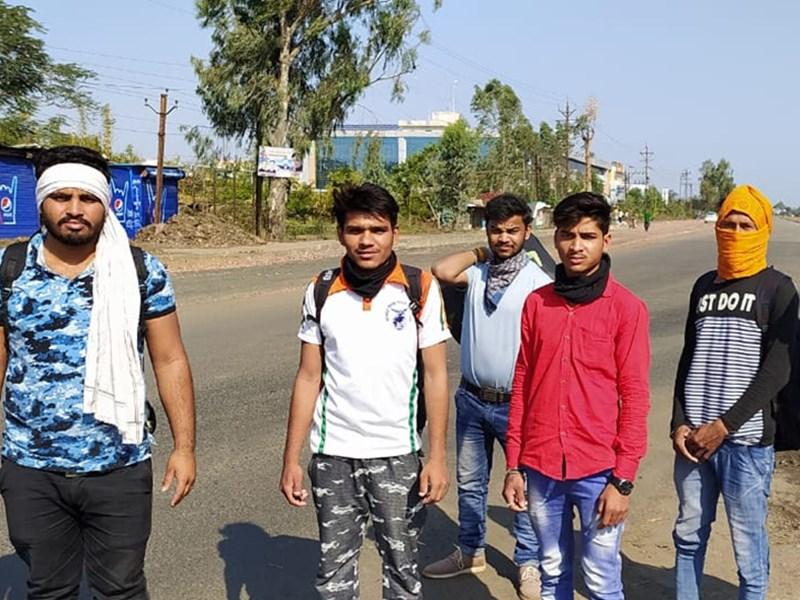 Lockdown : घर जाने के लिए पुलिस से मदद मांगी, जवाब मिला यह रास्ता महाराष्ट्र जाता है, निकल लो