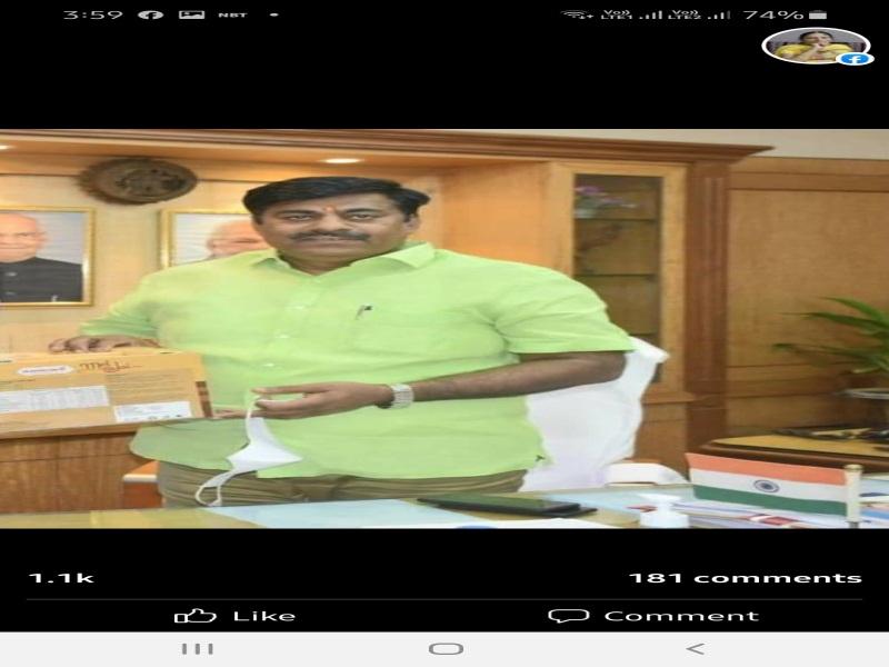 MP News: विधायक रामेश्वर शर्मा प्रशासन के रवैए से खफा, दी धरने की चेतावनी