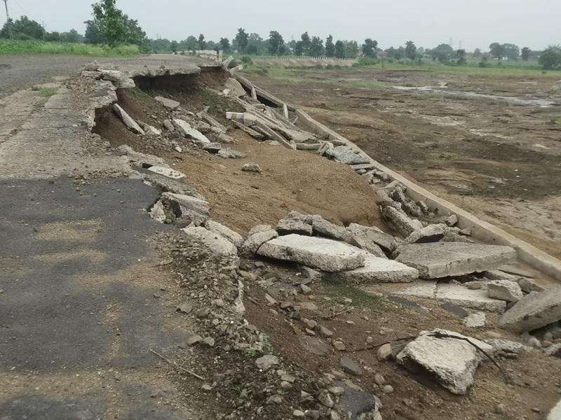 Seoni News:  पिछले साल भीमगढ़ बांध से छोड़े गए पानी से कई सड़कें, पुल और मकान ढह गए थे