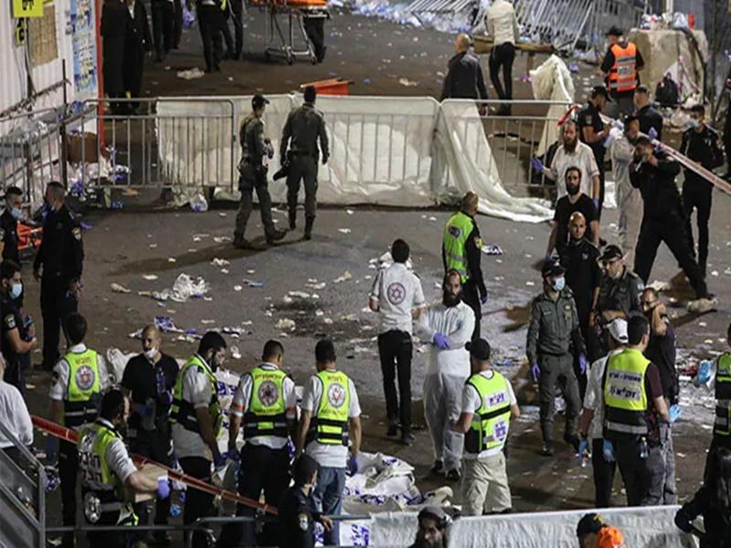 Israel: सभा के दौरान अचानक मची भगदड़, 44 से ज्यादा लोगों की मौत, 50 लोग घायल