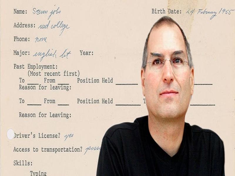 Steve Jobs ने 1973 में नौकरी के लिए दिया था आवेदन, उसी पत्र की अब 2.55 करोड़ रुपए में हुई नीलामी